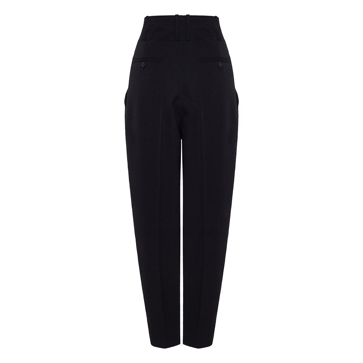 Durneri high-waist tapered trousers