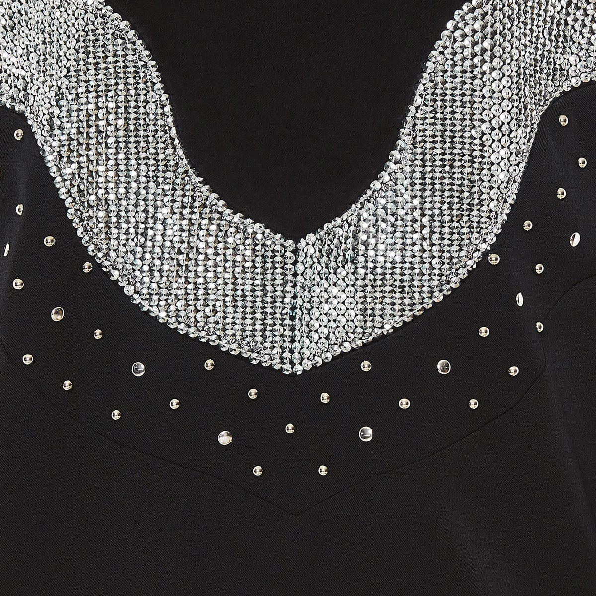 Valia embellished wool blouse
