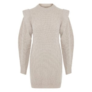 Beatsy oversized knitted mini dress