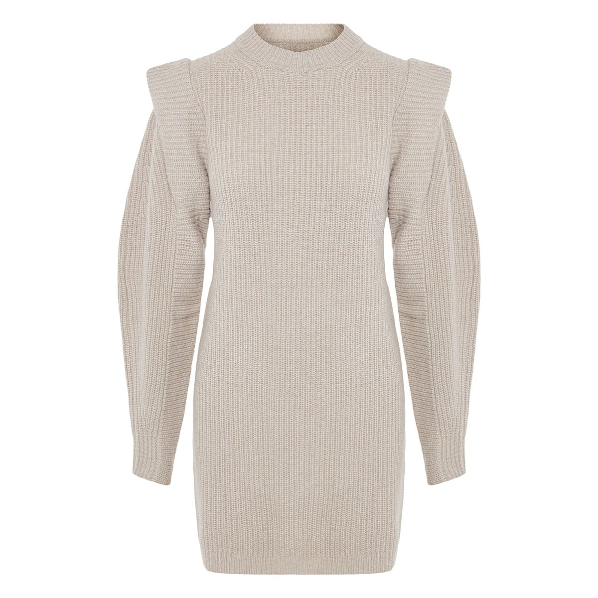 Beatsy oversized knitted mini dress