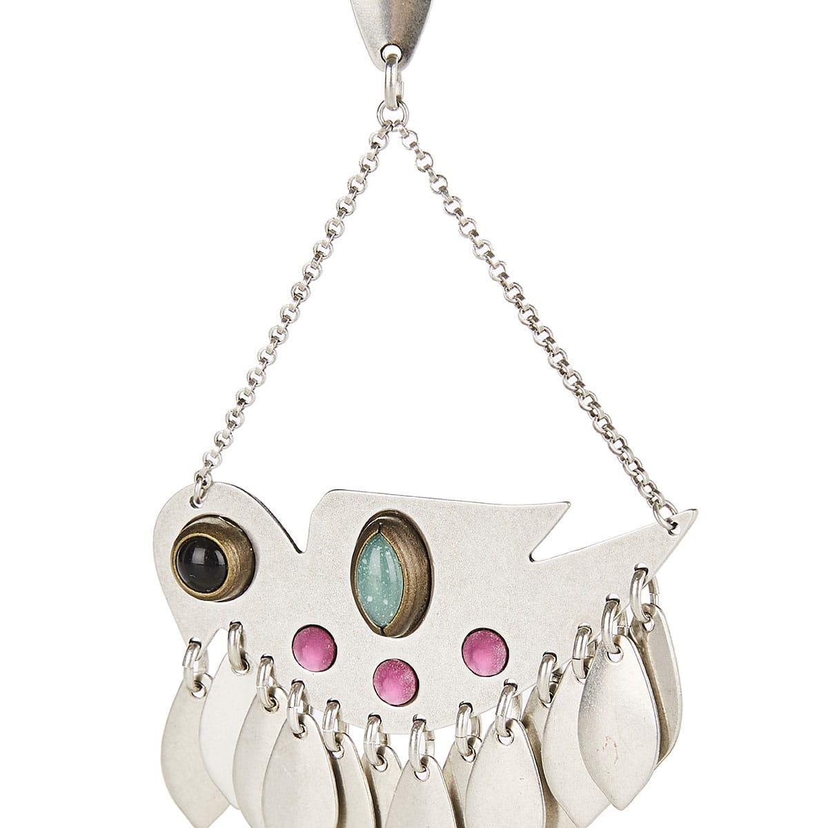 Birdy studded drop earrings