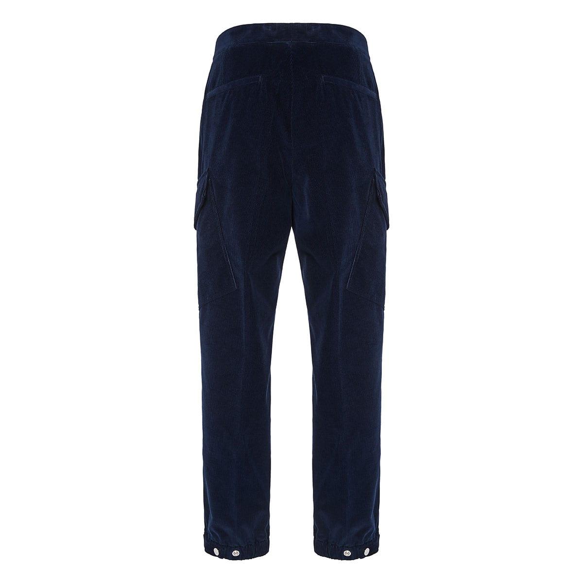 2 Moncler 1952+Valextra corduroy trousers