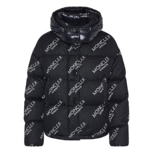 Caille oversized logo puffer jacket
