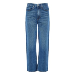 Ruth high-waist straight jeans