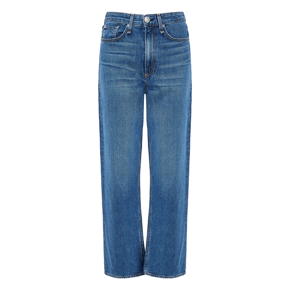 Ruth high-waist straight jeans