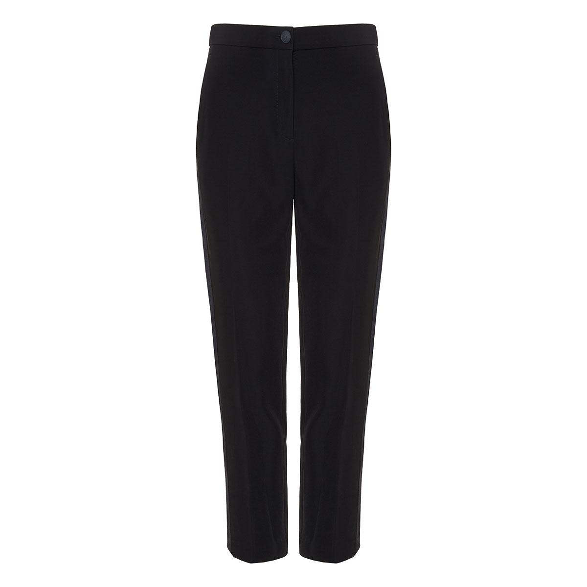 Meki side-striped cropped trousers