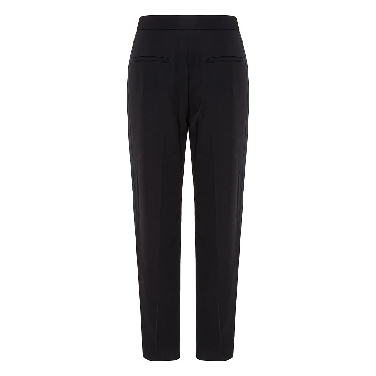 Meki side-striped cropped trousers