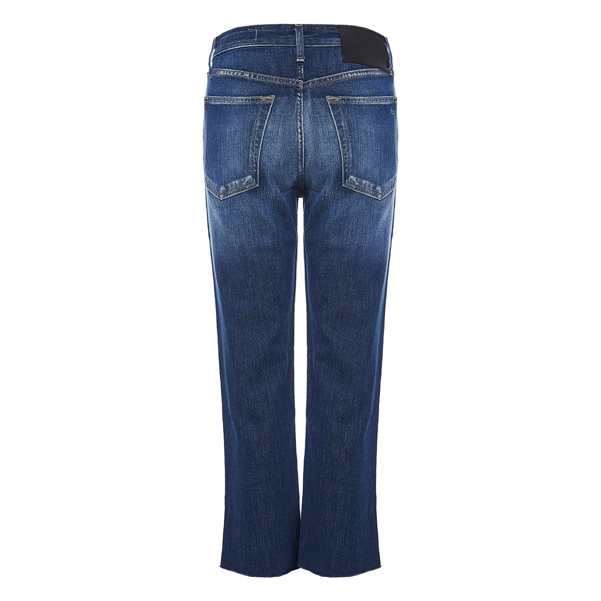 Maya five-pocket distressed jeans