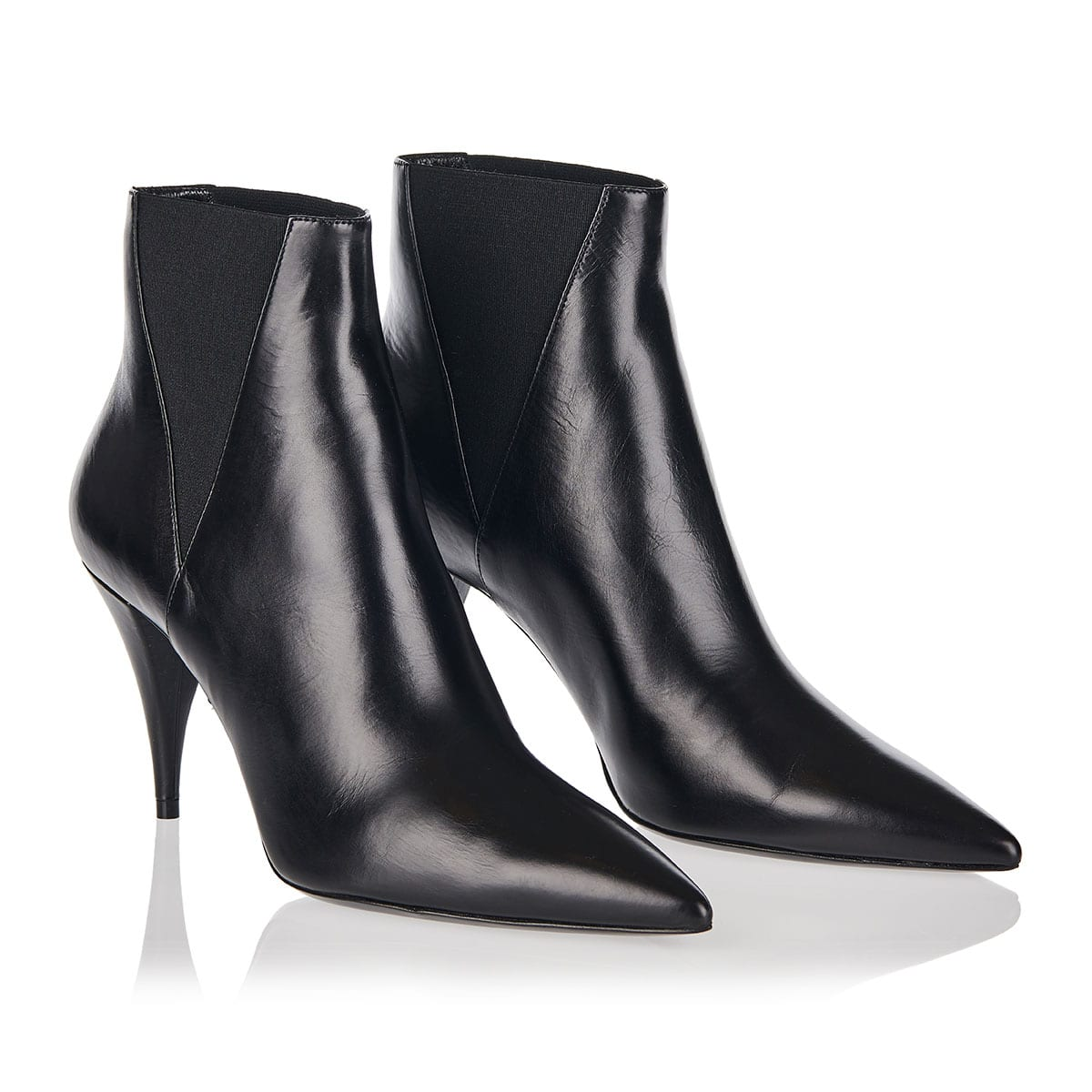 Kiki 85 leather ankle boots