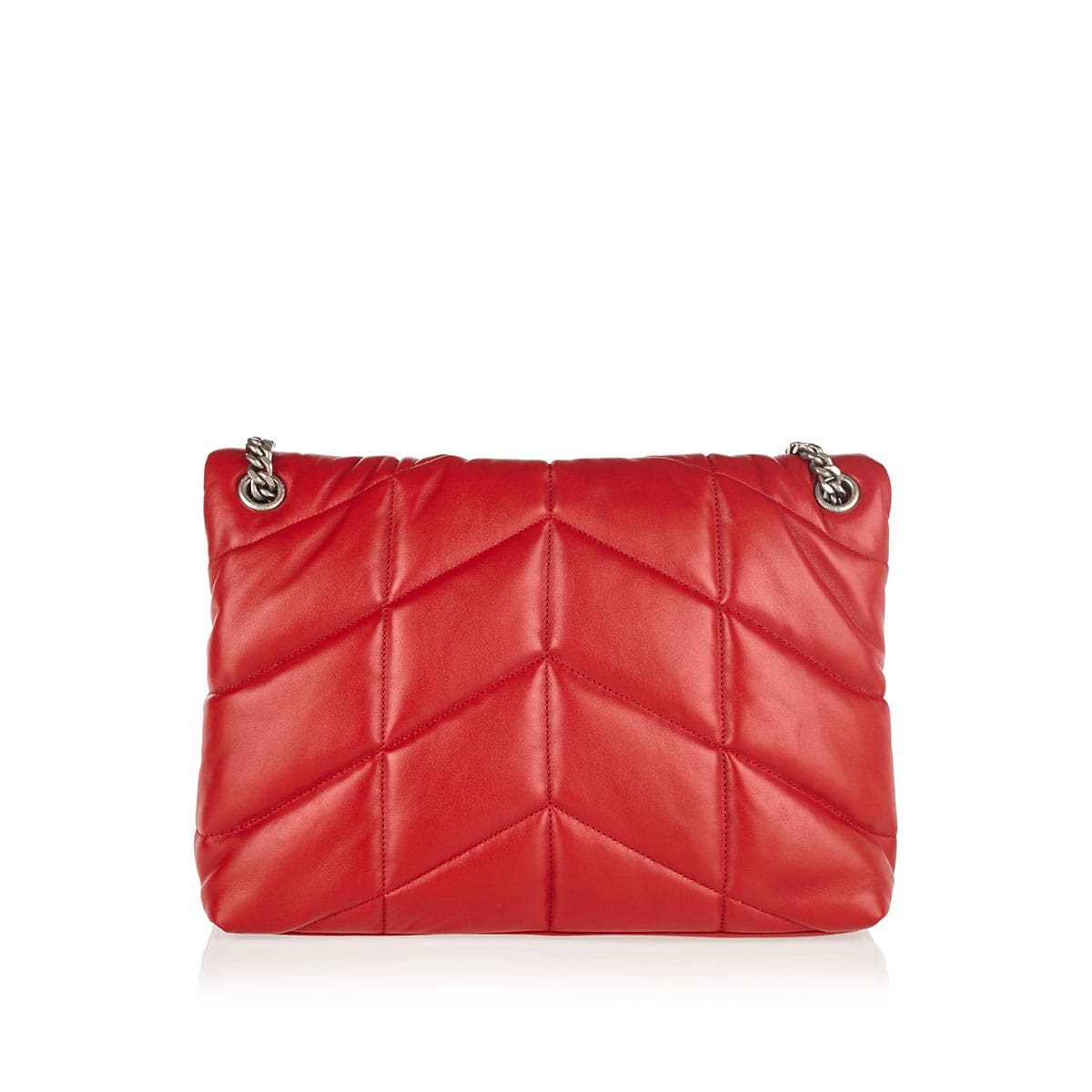 Loulou medium quilted puffer bag