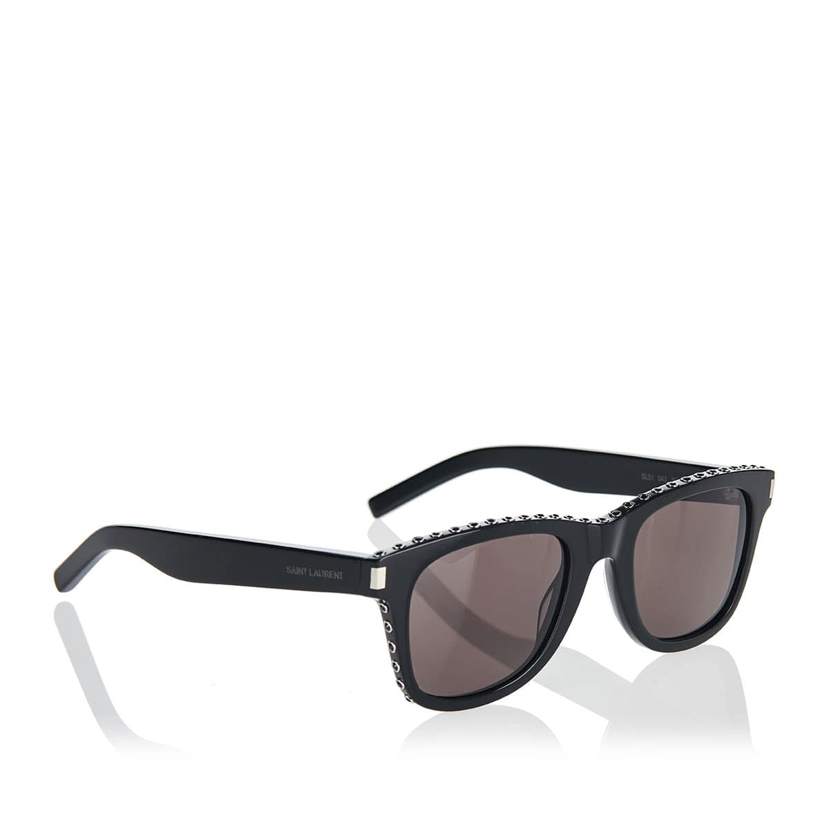 Studded square sunglasses