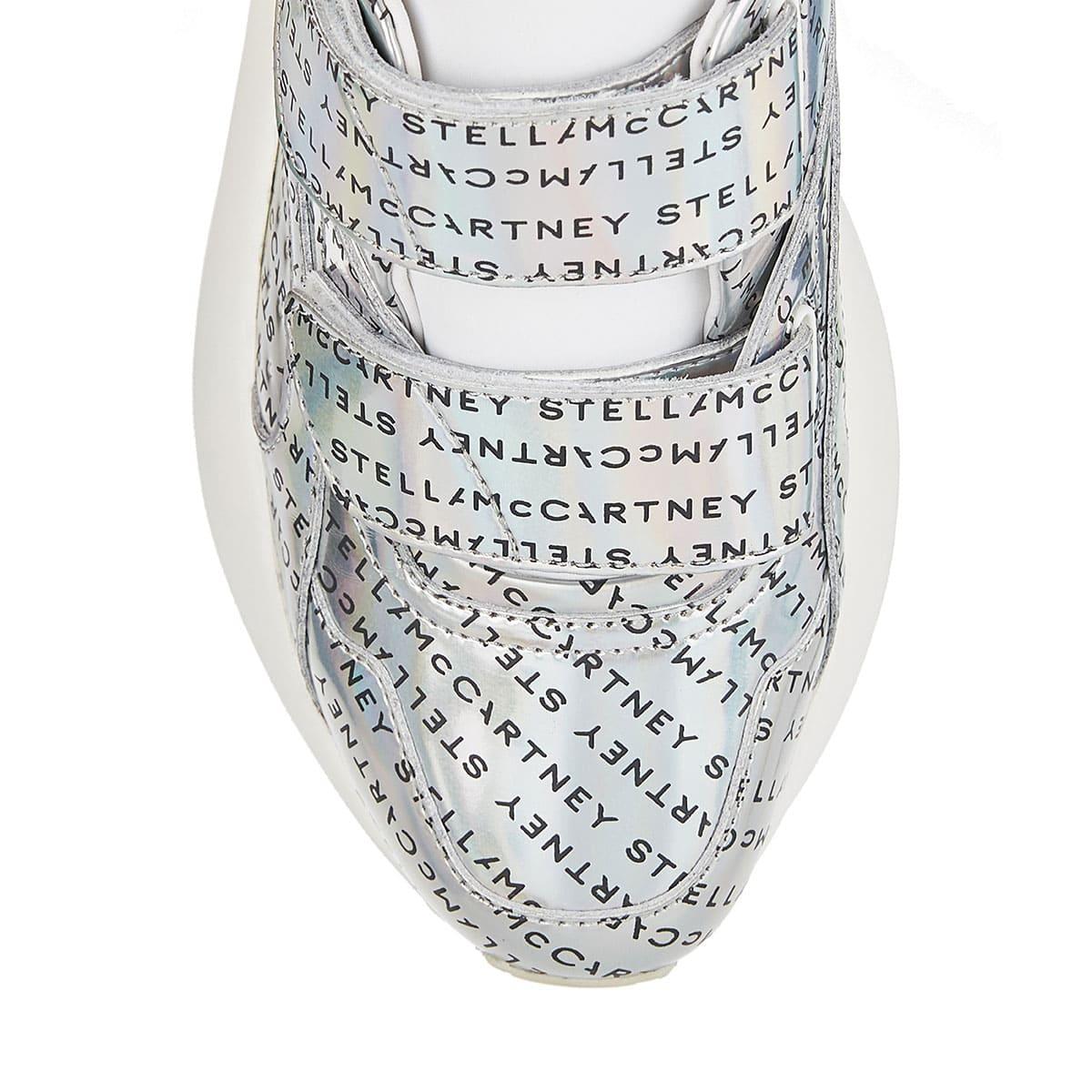 Eclypse metallic logo sneakers