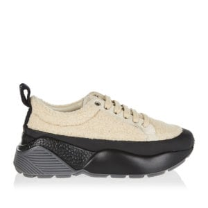 Eclypse shearling-effect sneakers