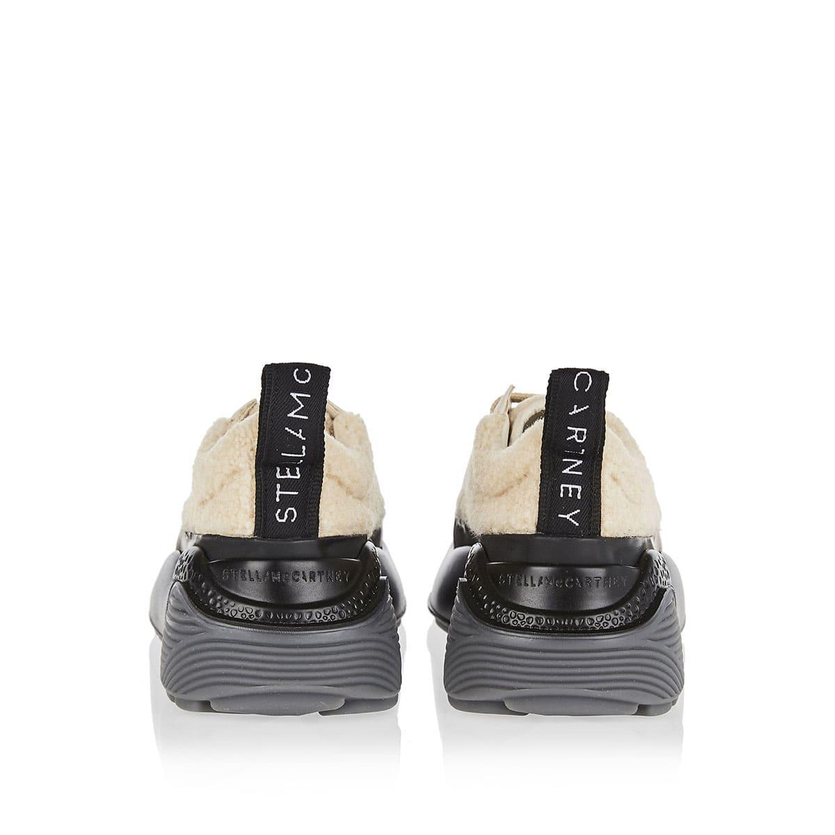 Eclypse shearling-effect sneakers