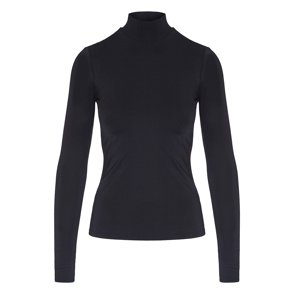 High-neck blouse