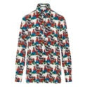 x Undercover bow-tie graphic shirt