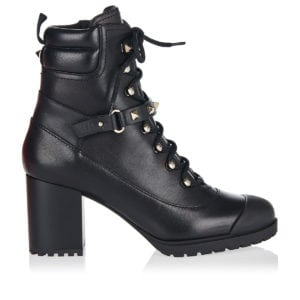Rockstud 80 lace-up ankle boots