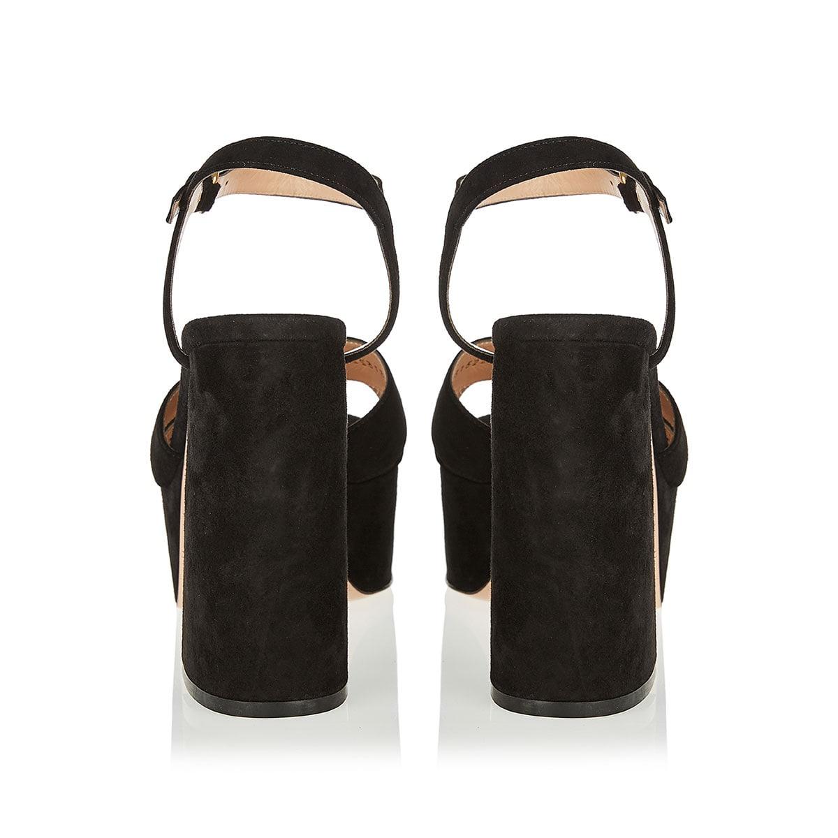 Suzie 70 suede platform sandals