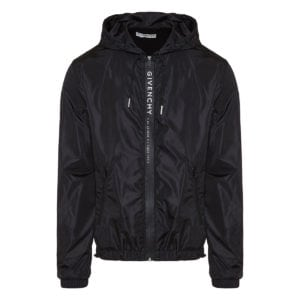 Logo nylon jacket