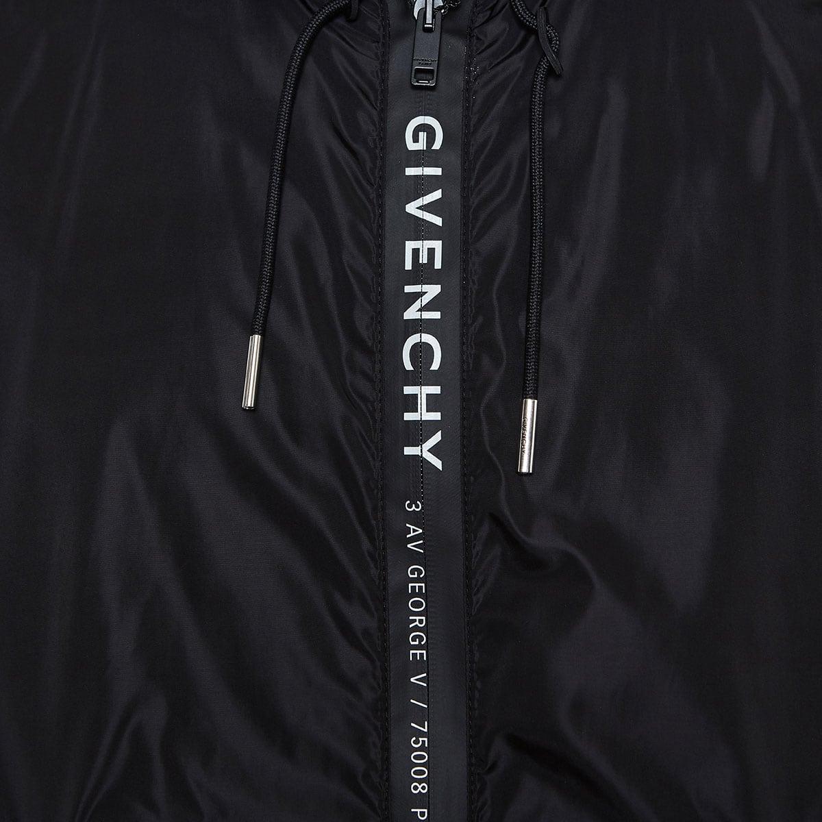 Logo nylon jacket