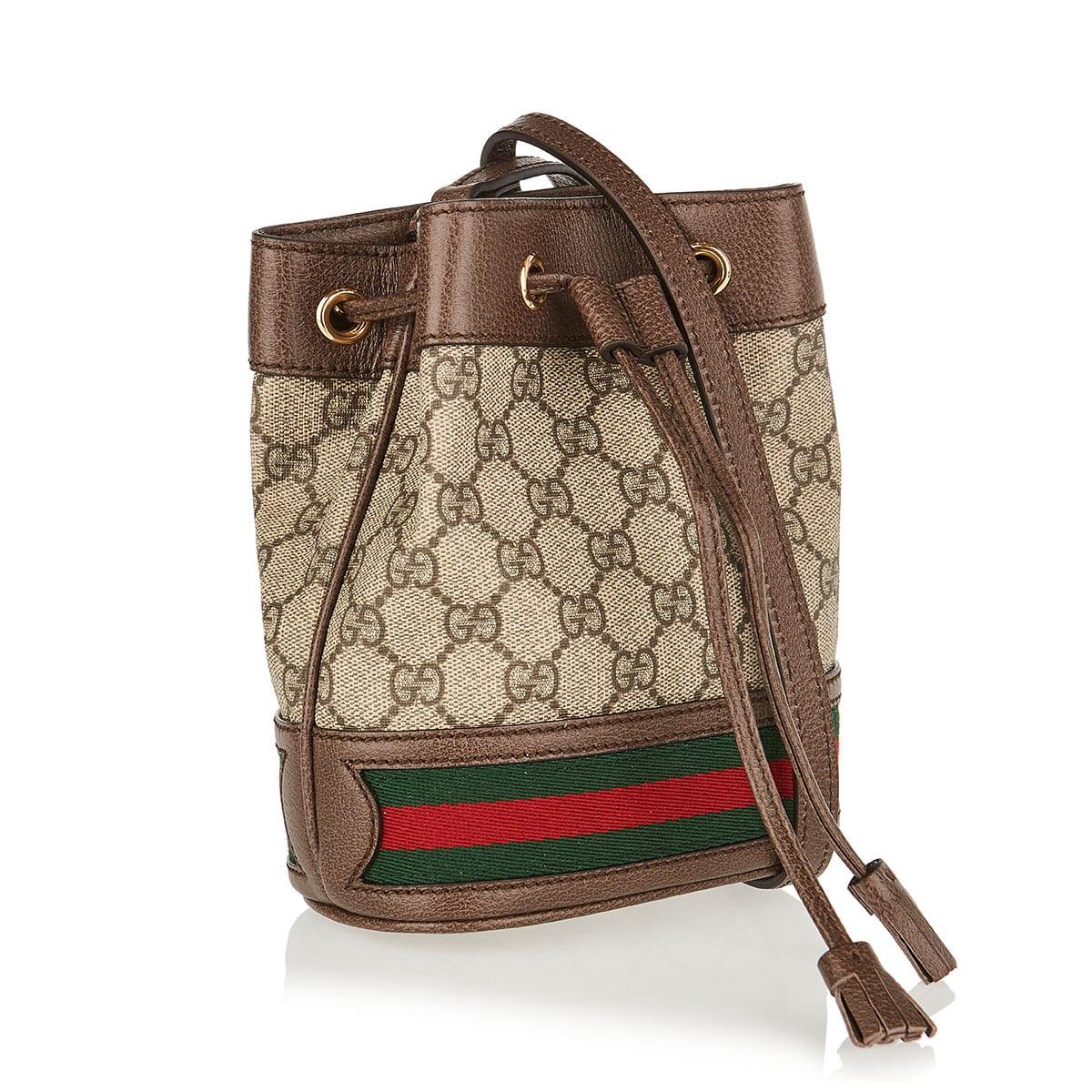 Ophidia GG mini bucket bag