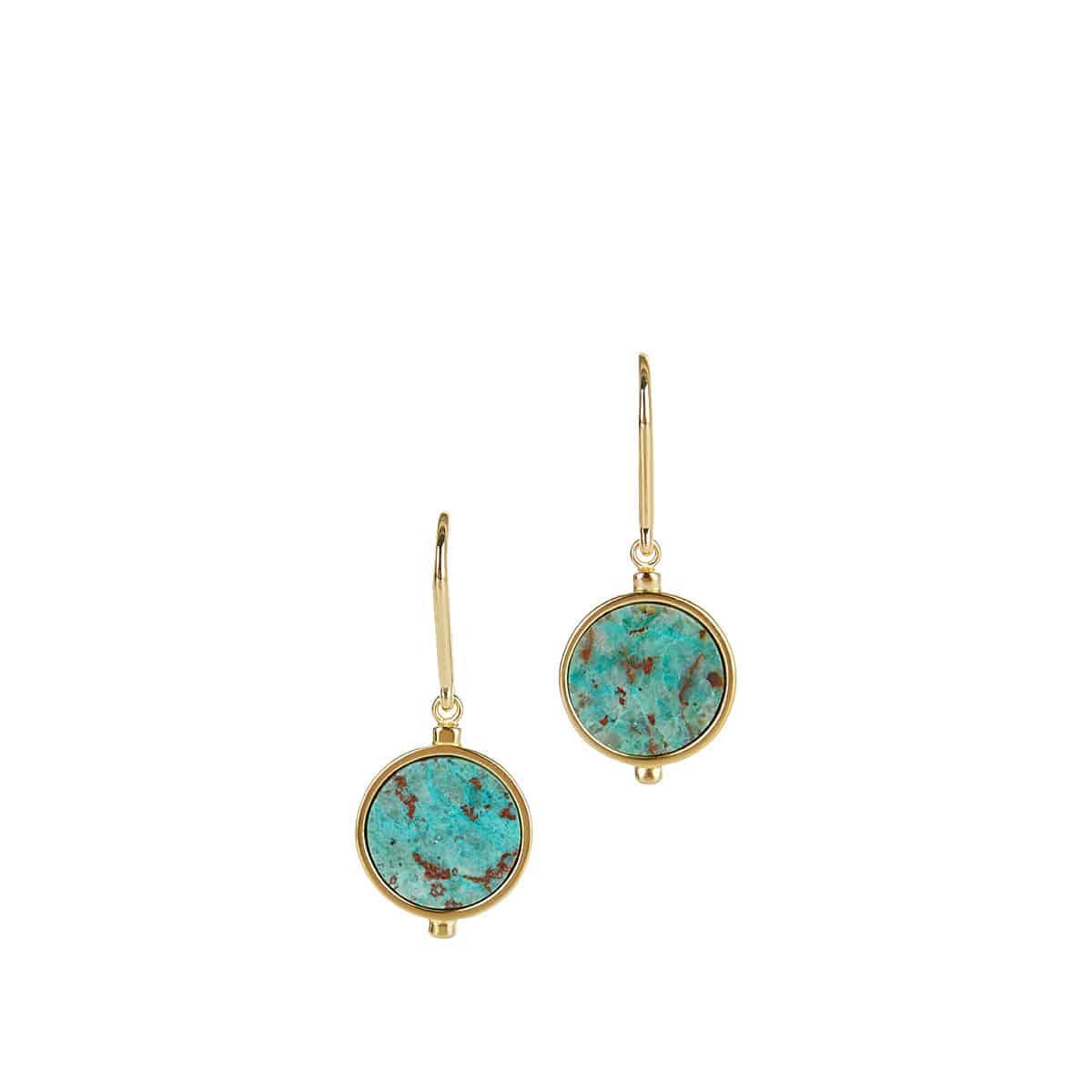 Julius stone drop earrings