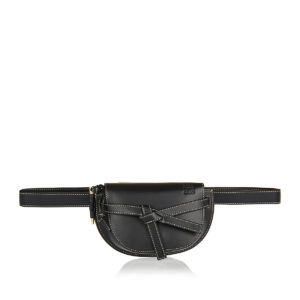 Gate leather belt bag