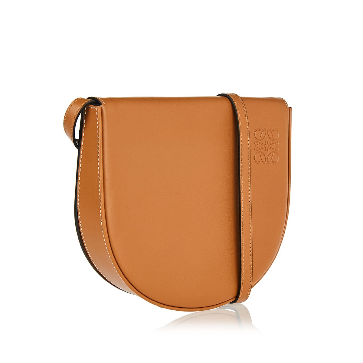 Heel leather crossbody bag