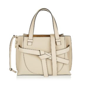 Gate mini leather tote
