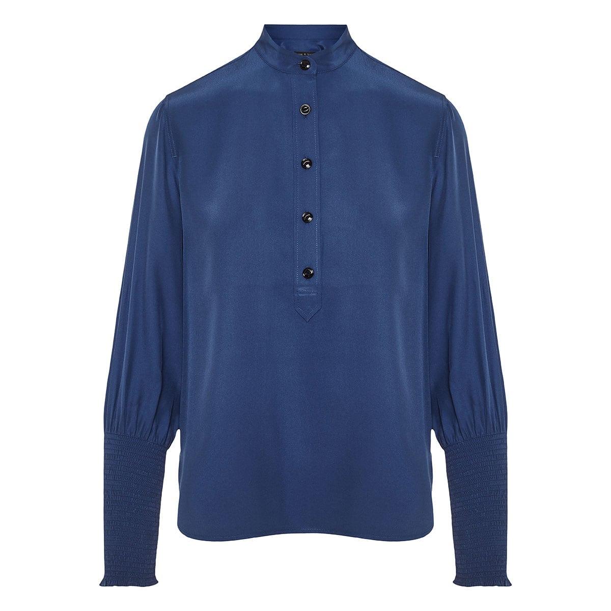 Maris silk blouse