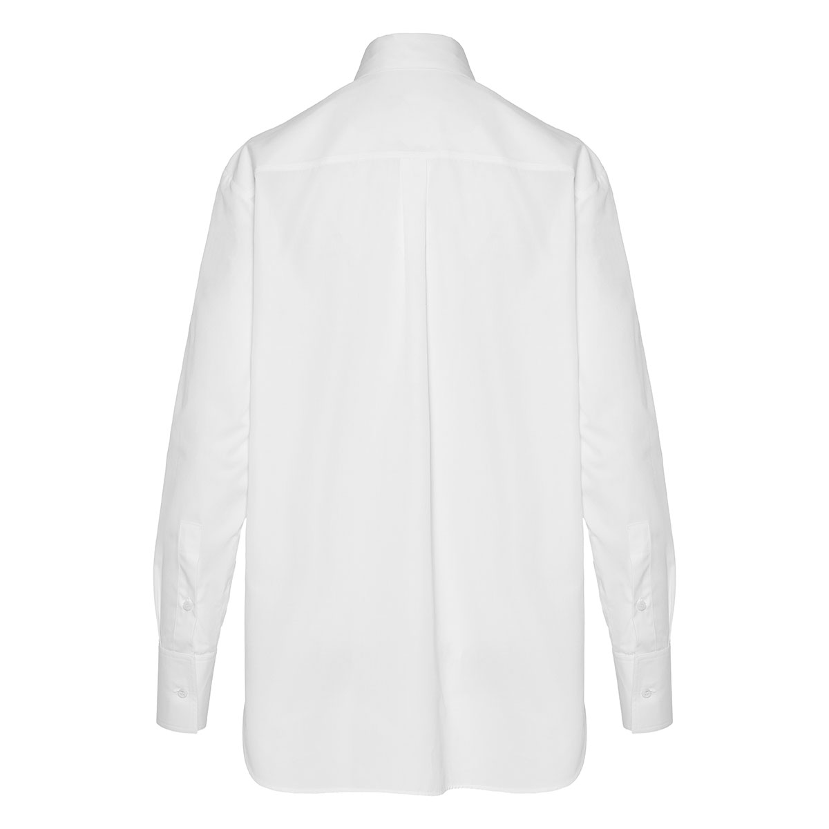 V-logo oversized shirt