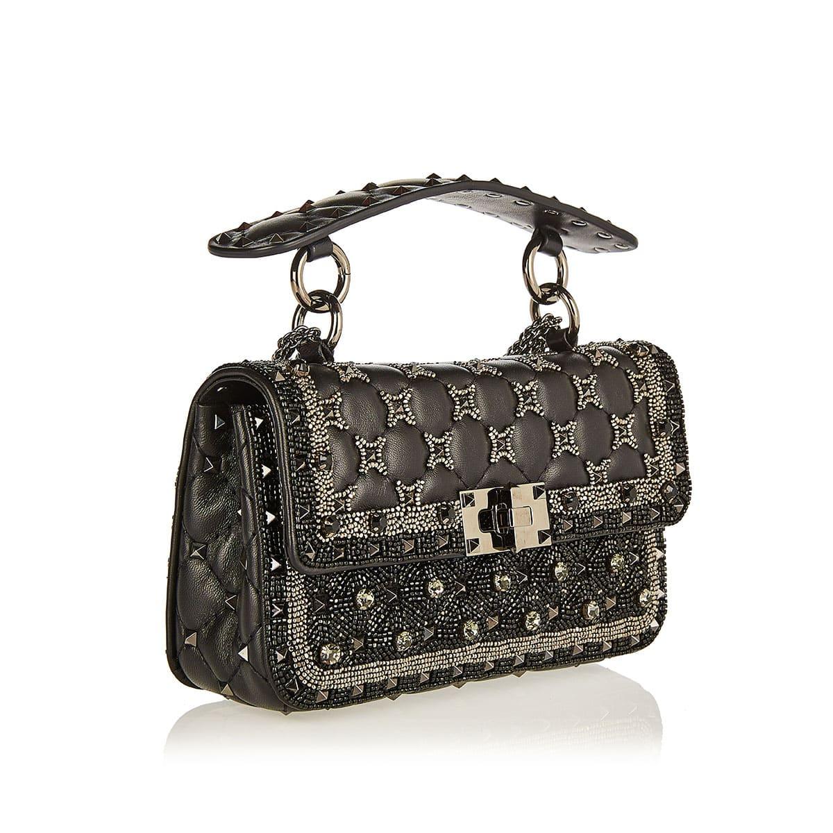 Small Rockstud Spike.It embellished bag