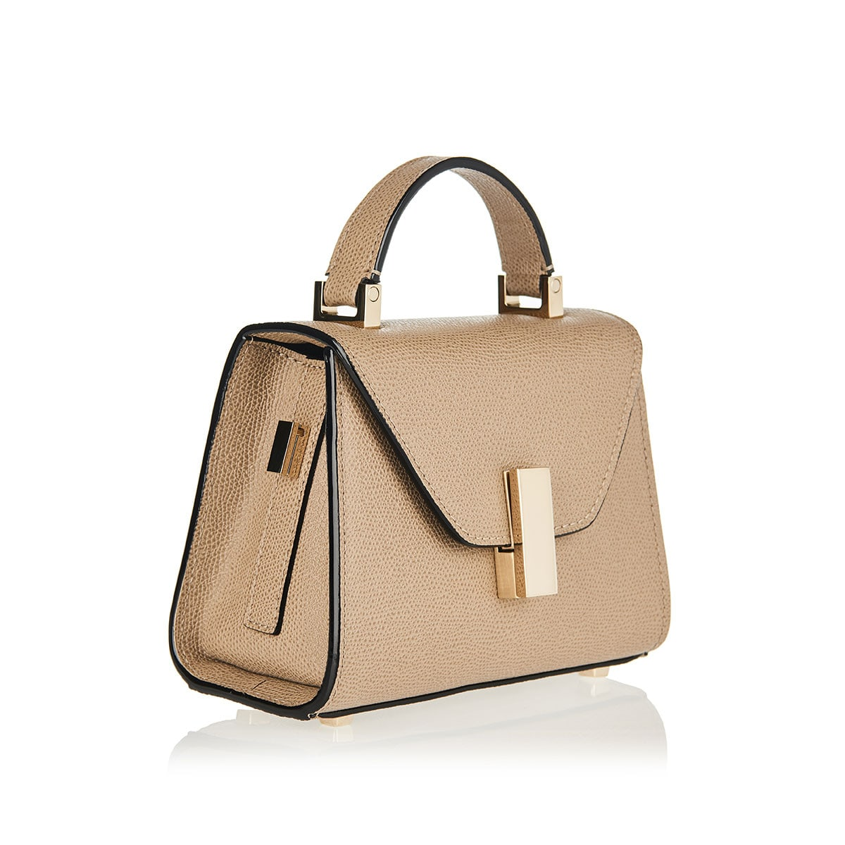 Iside micro leather bag