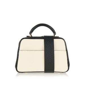 Serie S mini two-tone bag
