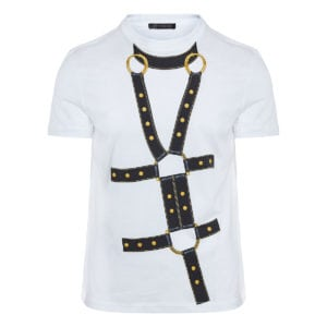 Harness-printed t-shirt