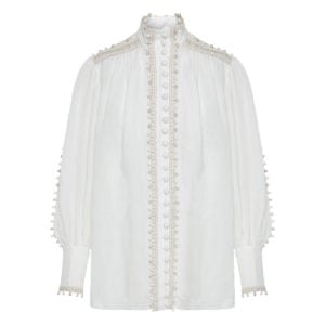 Super Eight Corded embellished blouse