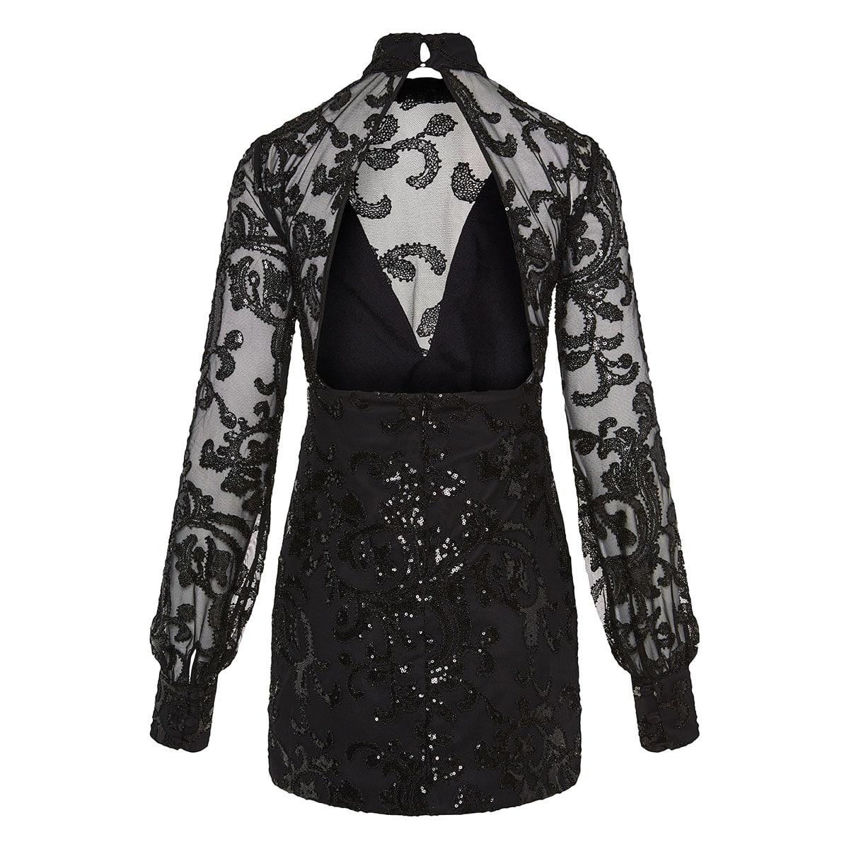 Franciska sequin-embellished mini dress
