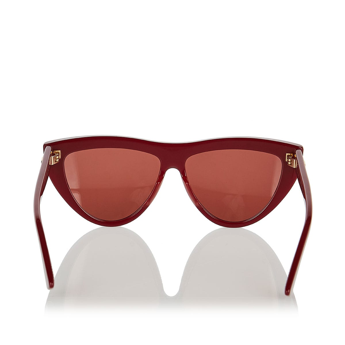Teardrop acetate sunglasses