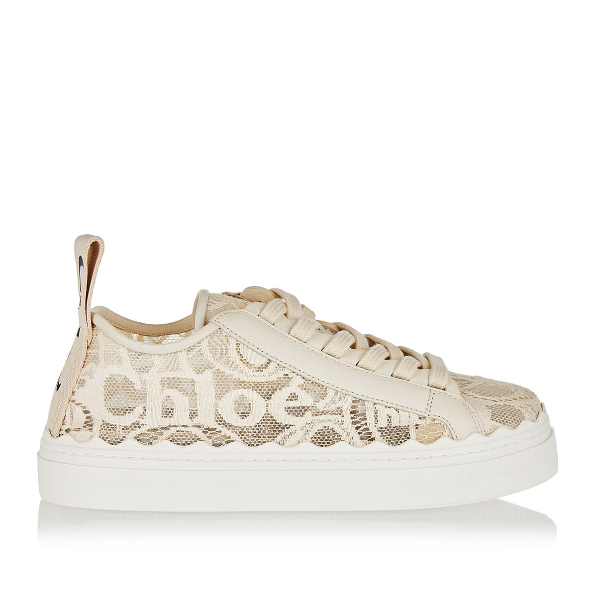 Lauren logo lace sneakers
