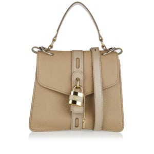 Aby medium leather shoulder bag