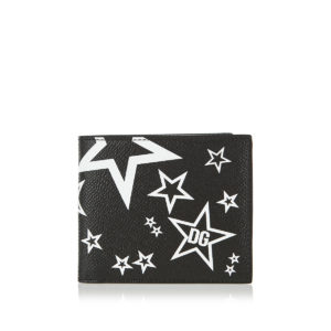Millennials Star printed bi-fold wallet