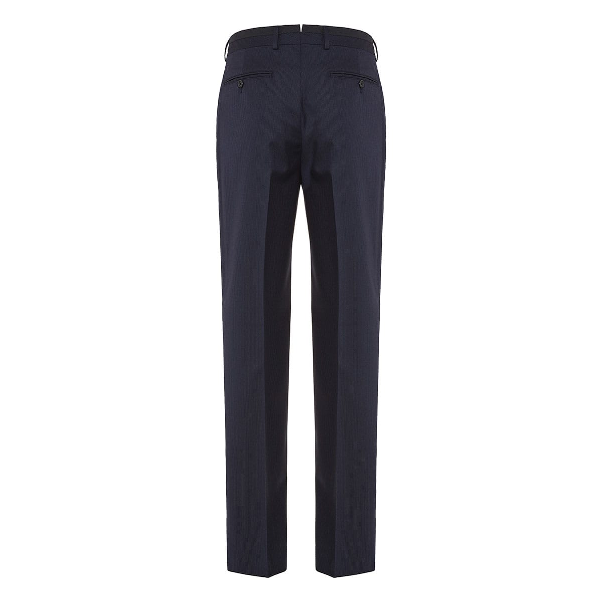 Pinstripe wool tailored trousers