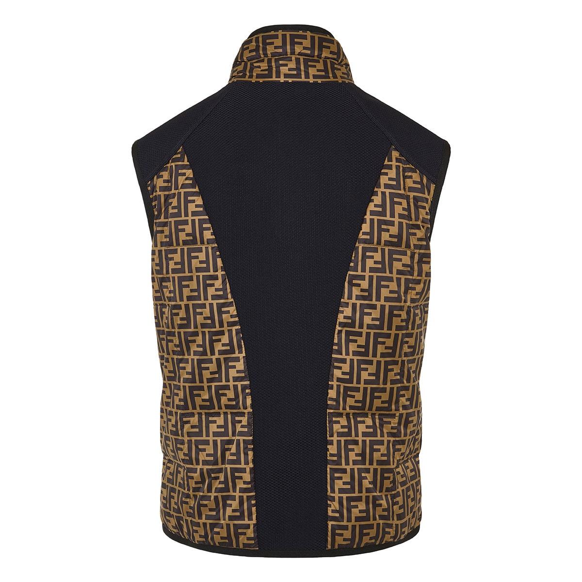 FF padded nylon vest jacket