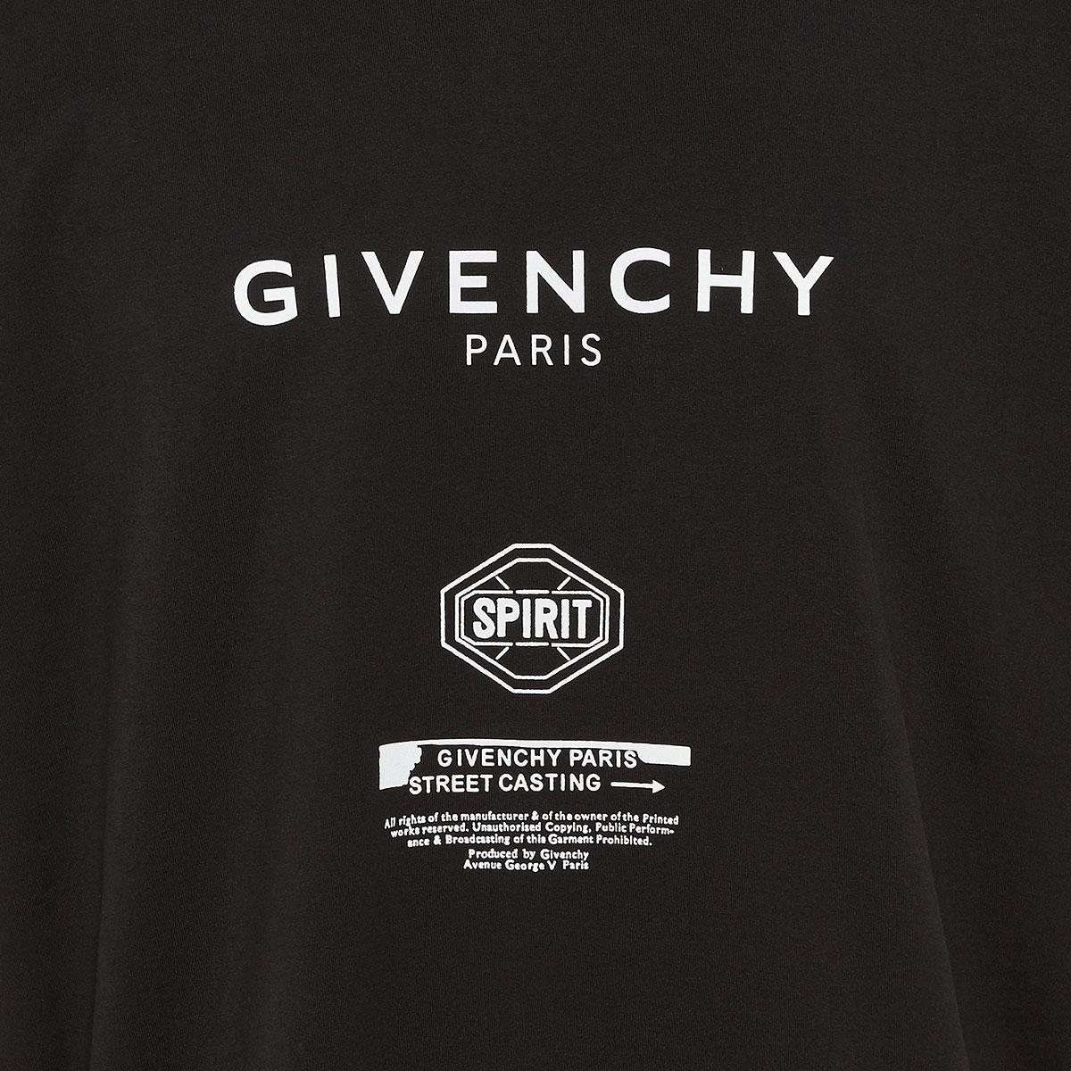 Spirit-printed oversized t-shirt