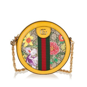 Ophidia GG Flora round chain bag