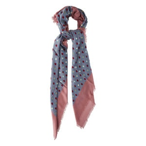GG printed scarf