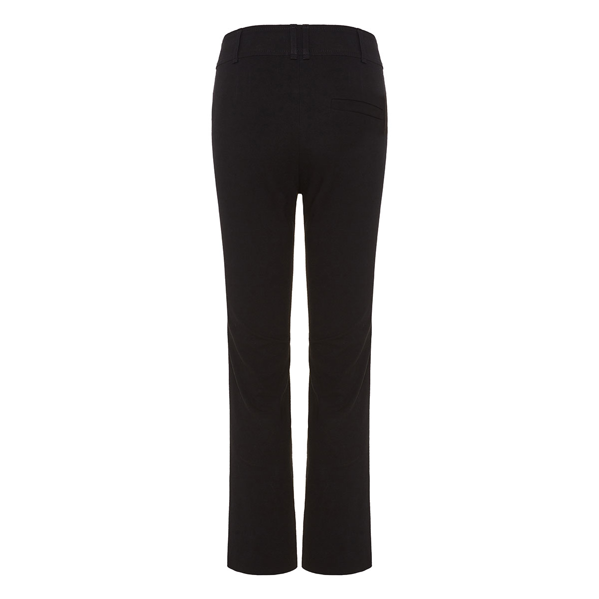 High-waist cropped flared trousers