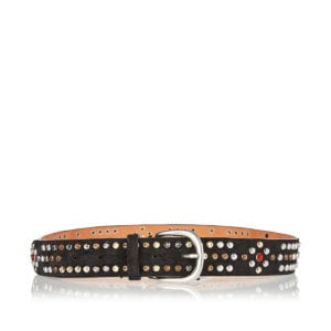 Devis studded suede belt