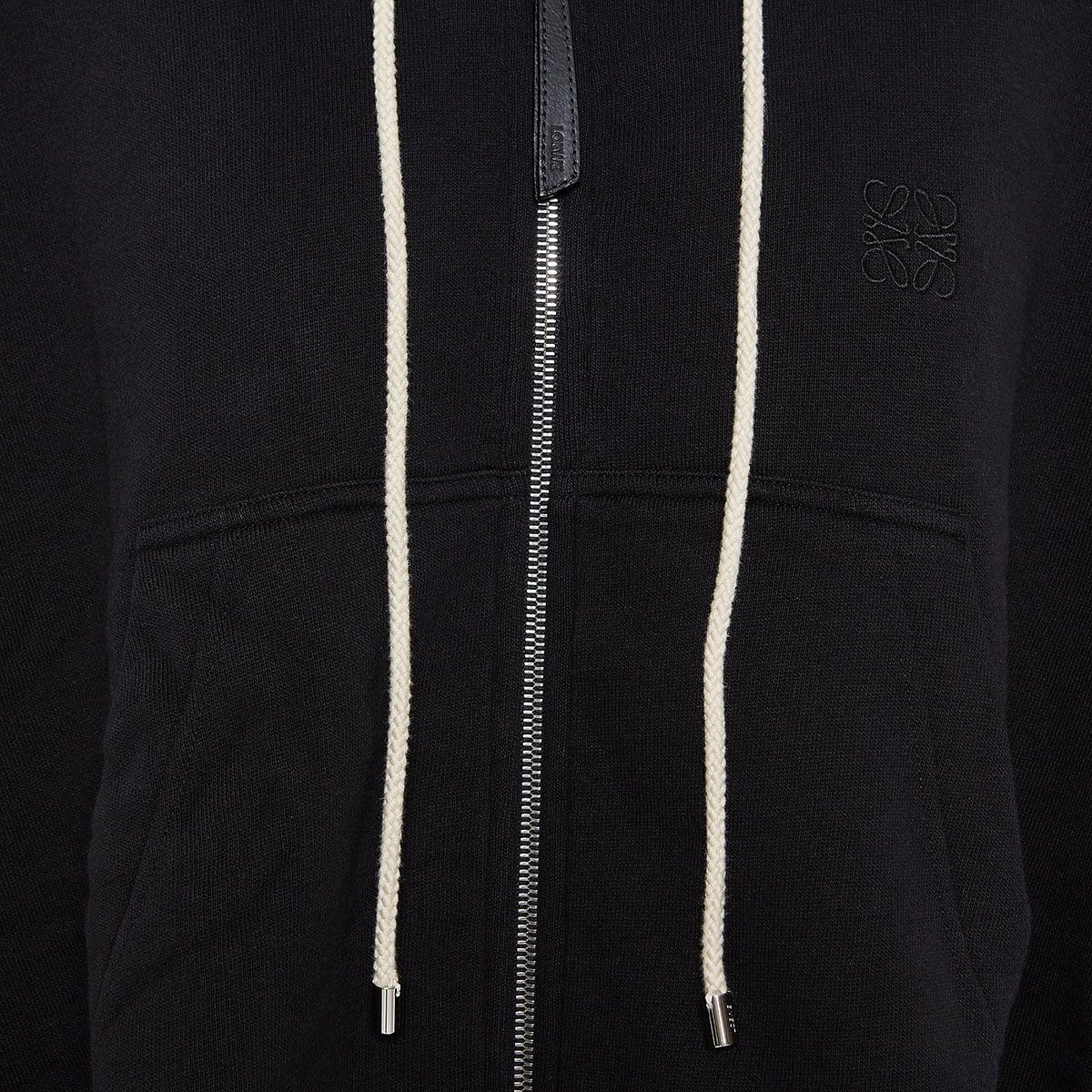 Oversized zipper hoodie