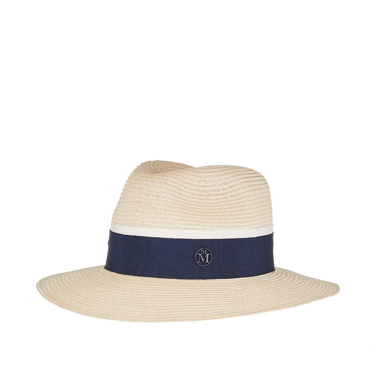 Henrietta straw fedora hat